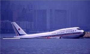 пассажирский Boeing упал в воду