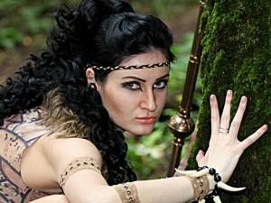 чувственная, сексуальная амазонка