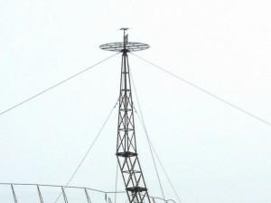 военная антенна радиолокатора