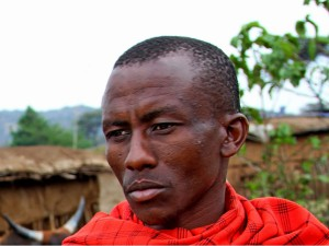 темнокожий мужчина из Африки