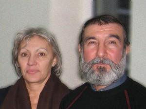 не старая бабушка и дедушка с бородой