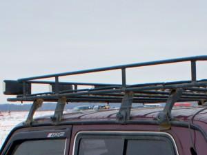 экспедиционный багажник на Ниве